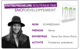 Portrait d'entrepreneure : Marie Schneegans (Never Eat Alone)