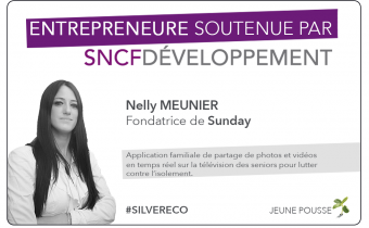 Portrait d'entrepreneure : Nelly Meunier (Sunday)